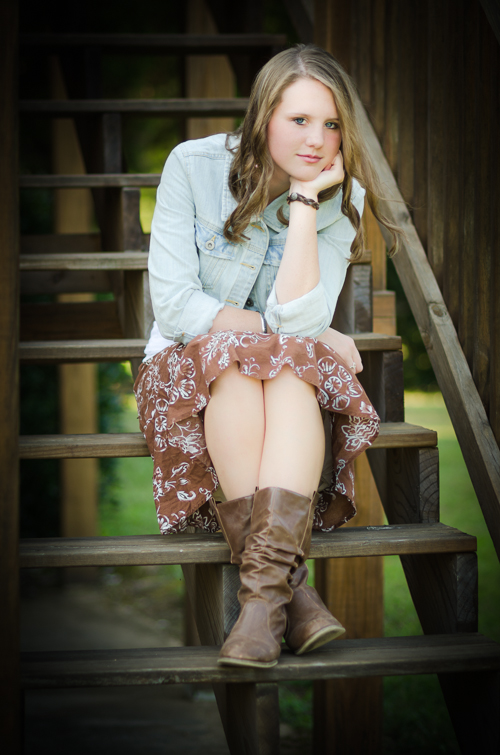Knoxville Tennessee Senior Portrait Photography