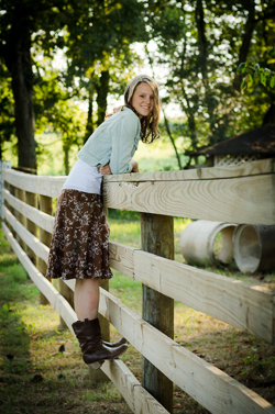 Cleveland Athens Knoxville Tennessee TN Senior Portrait