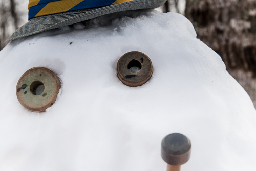 Athens Tennessee Snowman Photography