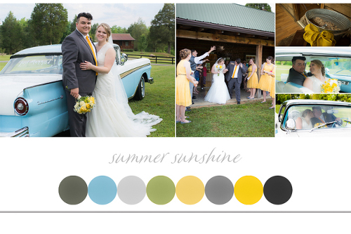 Wedding Color Cleveland Athens Tennessee Wedding Photographer