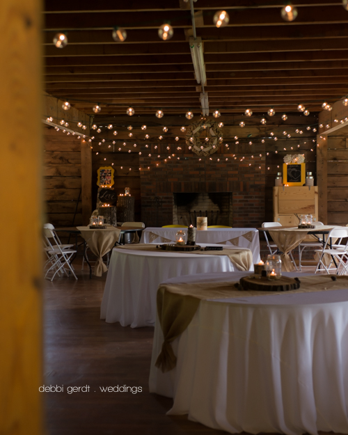 rustic yellow wedding reception picture Cleveland Athens Tennessee photography