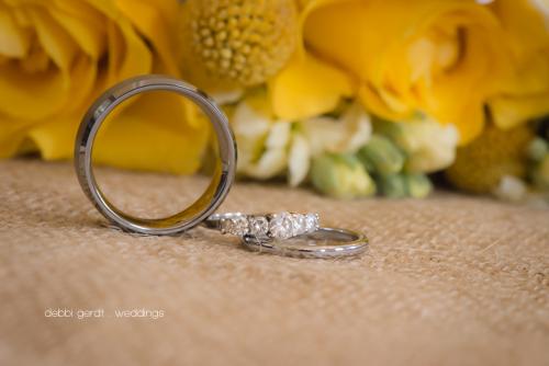 Wedding Rings Summer Wedding Athens Tennessee Photographer