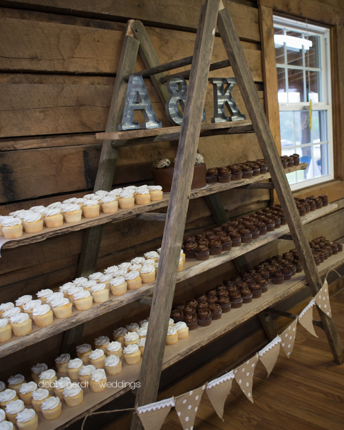 Cleveland Athens Tennessee wedding pictures photographer cupcake tower