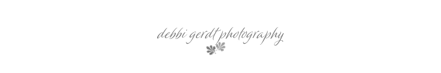 Debbi Gerdt Knoxville Athens Cleveland Tennessee TN Wedding and Portrait Photographer logo