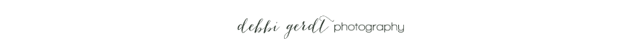 Debbi Gerdt Cleveland Athens Knoxville Wedding and Portrait Photographer logo